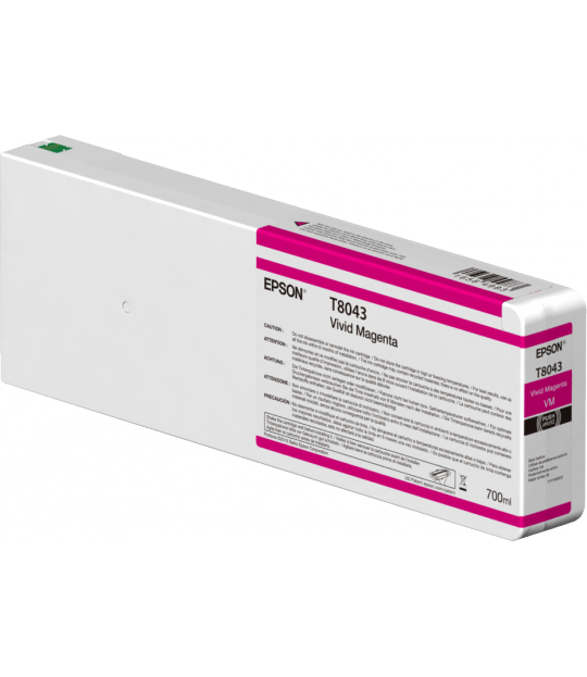 Vivid Magenta T804300 Ultrachrome HDX/HD 700ML