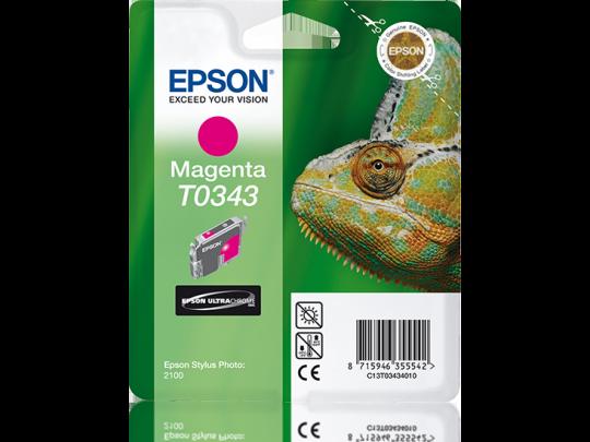 C13T034340 Magenta Ink Cartridge for Stylus Photo 2100