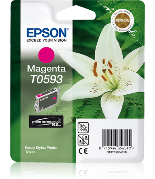 T059 Stylus R2400 Magenta Ink Cartridge