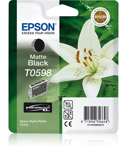 T059 Stylus R2400 Matte Black Ink Cartridge