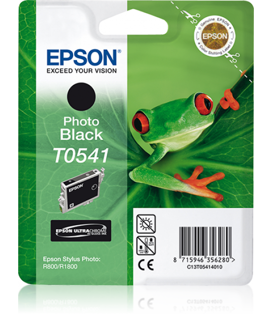 T0541 STYLUS PHOTO R800/R1800 Photo Black Ink Cartridge