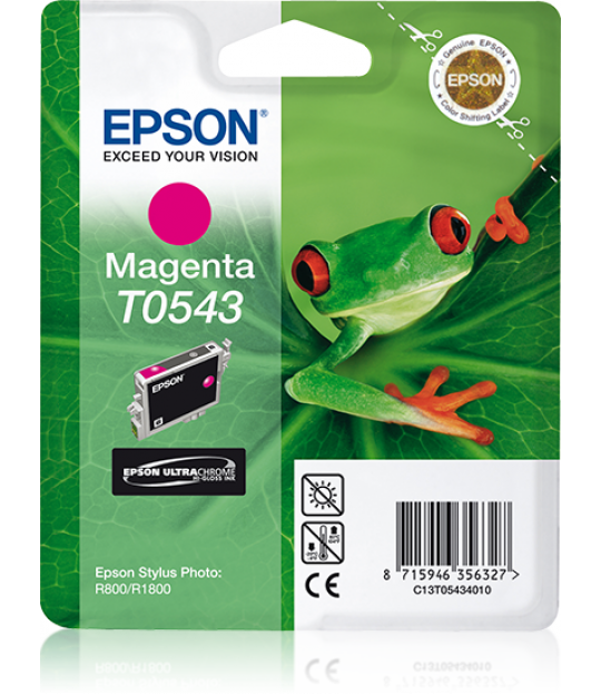 T0543 STYLUS Photo R800/R1800 Magenta Cartridge