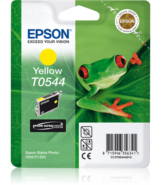 T0544 STYLUS Photo R800/R1800 Yellow Cartridge