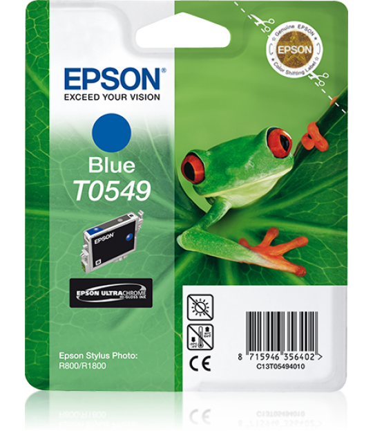 T0549 STYLUS Photo R800/R1800 Blue Cartridge
