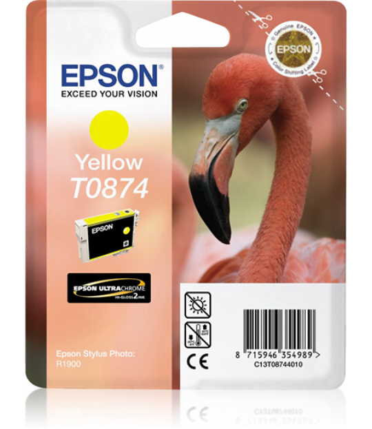 Epson Photo R1900 Yellow Ink Cartridge