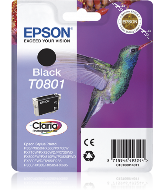 T0801 Black Ink Cartridge