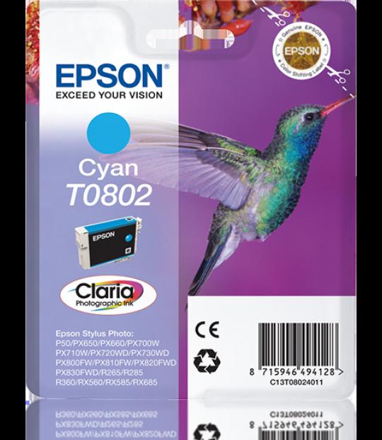 T0802 Cyan Ink Cartridge