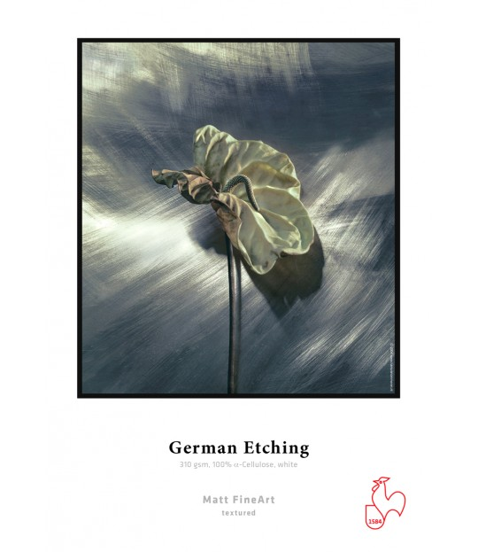 HM_German Etching 310 gsm, white A3+ box 25 sheet