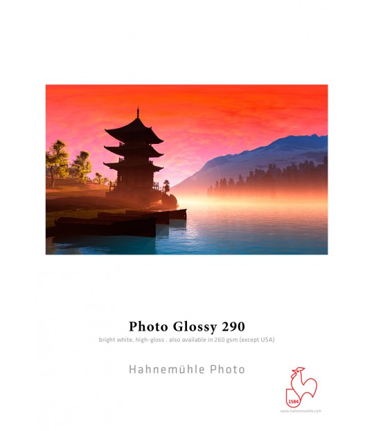 Photo Glossy 290gsm A4 eske 25 ark