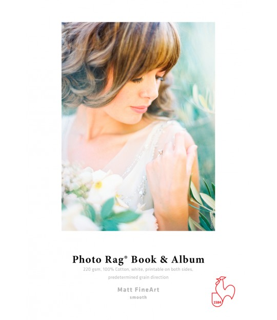 Photo Rag® Book & Album 220 gsm A4 eske 20 ark